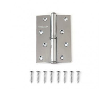 Петля дверная съемная Vanger 100мм хром 100*70*2,5-P-CR-R правая