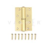 Петля дверная съемная Vanger 100мм мат. золото 100*70*2,5-P-GM-R правая