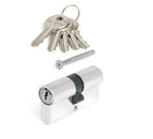 Цилиндровый механизм Vanger EL-60-NI никель ключ/ключ