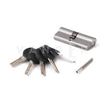 Цилиндровый механизм Vanger HM-80-CR хром ключ/ключ, с перфорацией