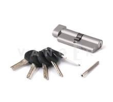 Цилиндровый механизм Vanger HM-80-C-CR хром ключ/верт., с перфорацией