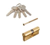 Цилиндровый механизм Vanger IC-80-G золото ключ/ключ