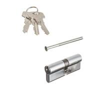 Цилиндровый механизм Vanger IC-80-CR 3 ключа хром ключ/ключ