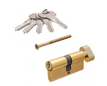 Цилиндровый механизм Vanger IC-70-C-G золото ключ/верт.