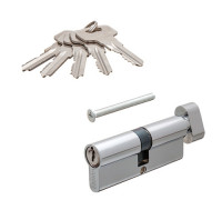 Цилиндровый механизм Vanger IC-80-C-CR хром ключ/верт.