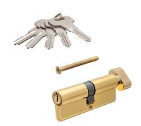 Цилиндровый механизм Vanger IC-80-C-G золото ключ/верт.