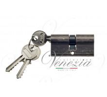 Ключевой цилиндр Venezia 60мм антич. серебро ключ/ключ
