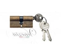 Ключевой цилиндр Venezia 70мм бронза антич. ключ/ключ