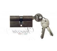 Ключевой цилиндр Venezia 70мм ключ/ключ бронза мат.