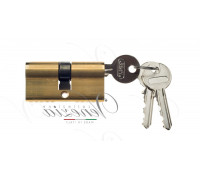 Ключевой цилиндр Venezia 70мм ключ/ключ полиров. латунь