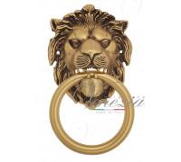 Дверная ручка стучалка (молоток) Venezia Leone франц. золото