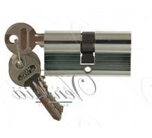 Ключевой цилиндр Venezia 60мм полиров. хром ключ/ключ