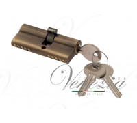 Ключевой цилиндр Venezia 70мм (30/40) ключ/ключ бронза мат.