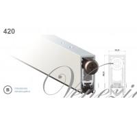 Дверной автопорог-уплотнитель врезной Venezia 420/930мм, регулировка 1 уровень