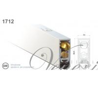 Дверной автопорог-уплотнитель врезной Venezia 1712/800мм, регулировка 2-х уровневая