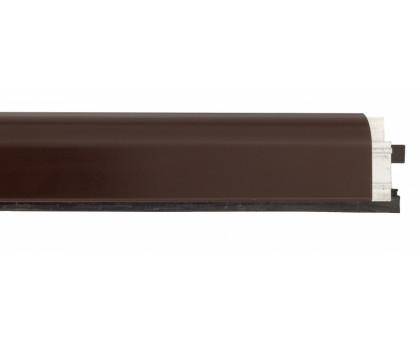 Дверной автопорог-антипорог накладной Venezia 1450/700мм, регулировка 1 уровень, темно-коричневый
