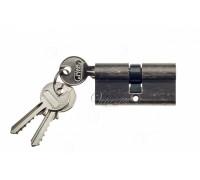 Ключевой цилиндр Venezia 70мм (30/40) ключ/ключ серебро антич.