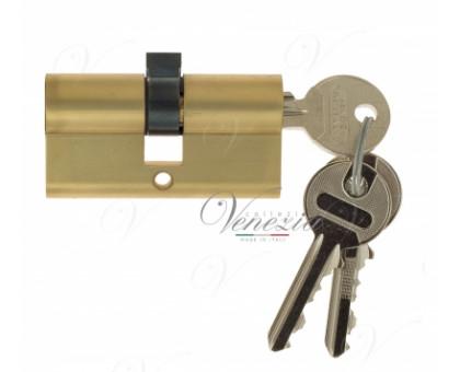 Ключевой цилиндр Venezia 70мм (30/40) ключ/ключ франц. золото