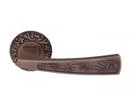 Дверная ручка Vilardi Диана матовая бронза