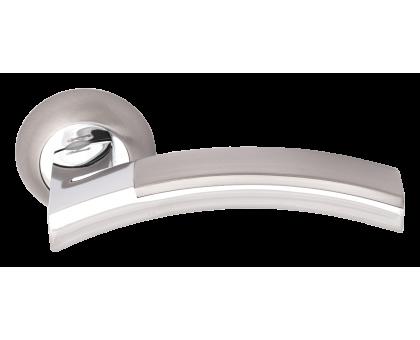 Дверная ручка Vilardi Элина матовый хром/хром